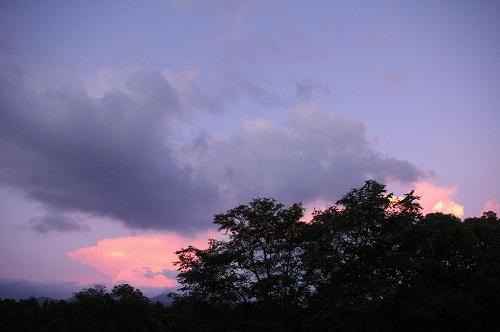 夕日をながめる_b0174425_1353382.jpg