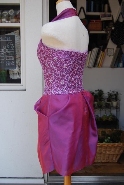 ドレスからドレスへ..リメイク_d0127925_1361992.jpg