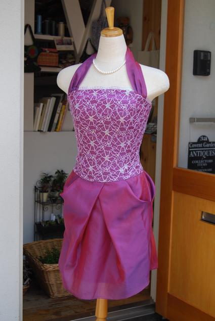 ドレスからドレスへ..リメイク_d0127925_1363592.jpg