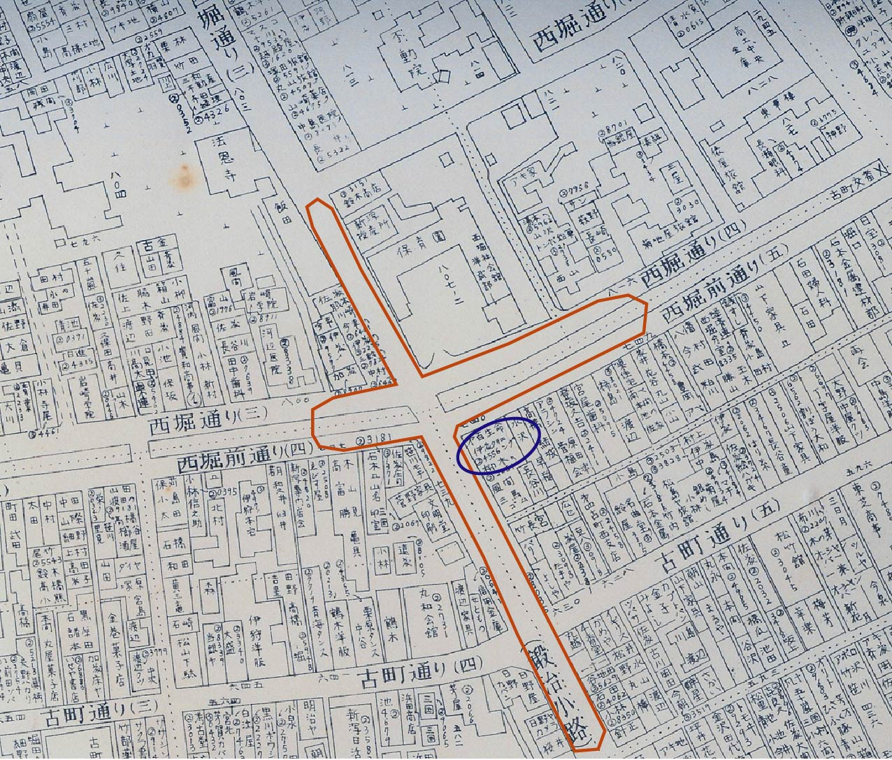 ②50年前の西堀埋立工事と鍛冶工事の下水道管埋設工事_d0178825_2383887.jpg