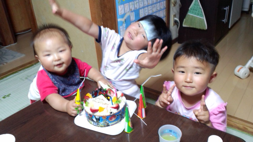 『たけひろ』 3歳になりました。_f0101226_8221680.jpg