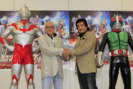 10月26日発売『ウルトラマン VS 仮面ライダー』Blu-ray&DVD発売記念記者会見レポート_e0025035_2201578.jpg