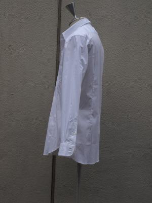 H artinasal hand by..シエイプドホワイトシャツ_e0122680_2221217.jpg