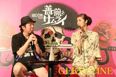 薔薇とサムライ 初日舞台挨拶レポート!_f0162980_12104286.jpg