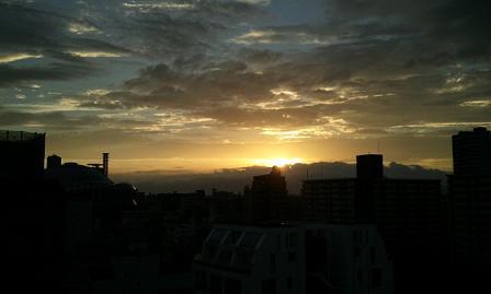 夕日♪_f0202682_12123100.jpg