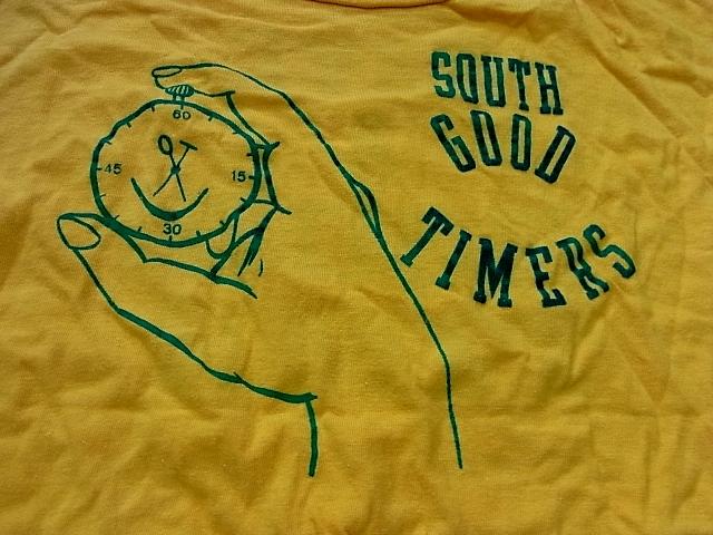 60'S-70'S  SPRUCE フロッキープリントTシャツ! _c0144020_14244358.jpg