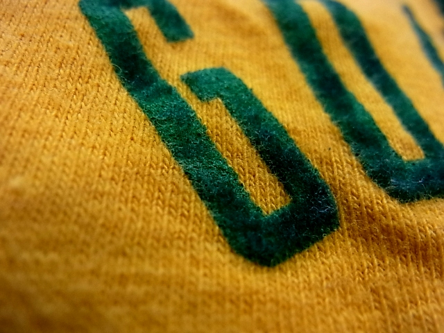 60'S-70'S  SPRUCE フロッキープリントTシャツ! _c0144020_14244572.jpg