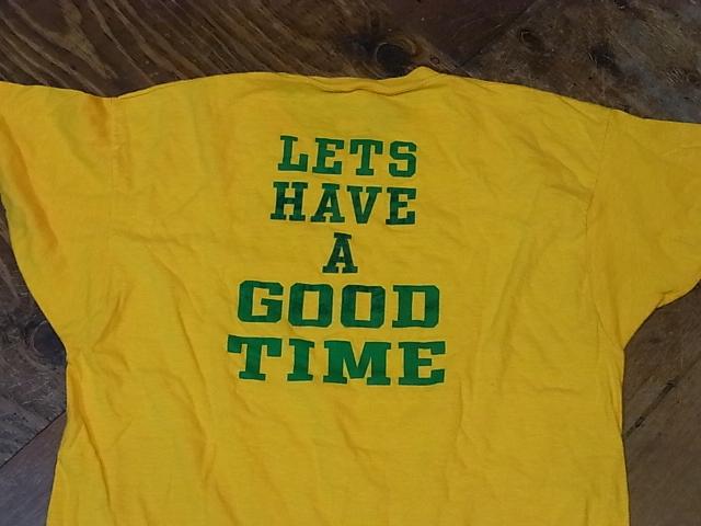 60'S-70'S  SPRUCE フロッキープリントTシャツ! _c0144020_14275058.jpg