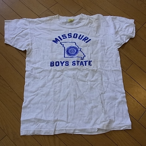 50'S 染み込みプリントTシャツ! _c0144020_14455947.jpg