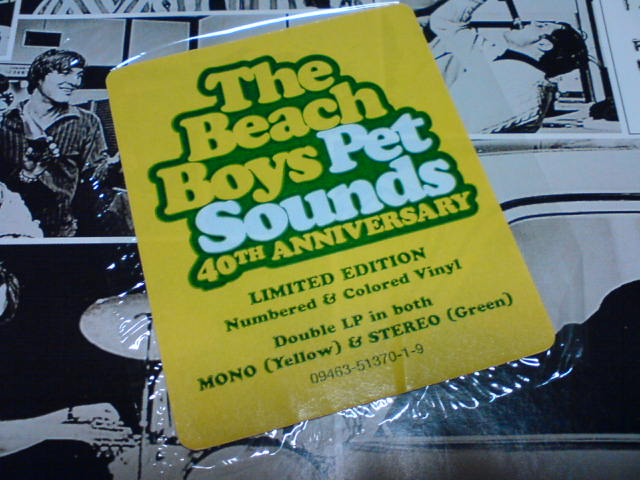 Pet Sounds / The Beach Boys_c0104445_2240247.jpg
