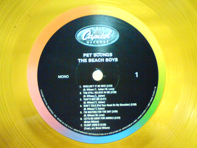 Pet Sounds / The Beach Boys_c0104445_22403049.jpg