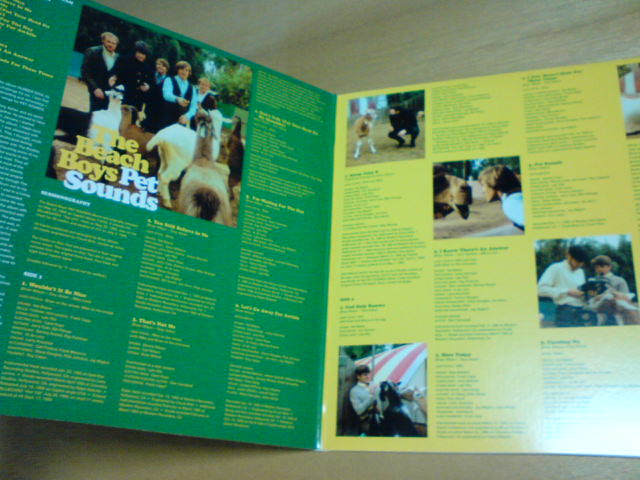 Pet Sounds / The Beach Boys_c0104445_22404524.jpg