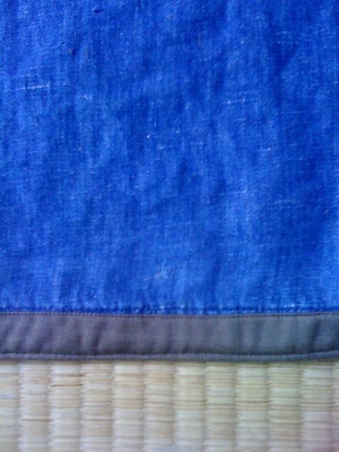 夏の羽織りのお手入れ_d0210561_2220587.jpg