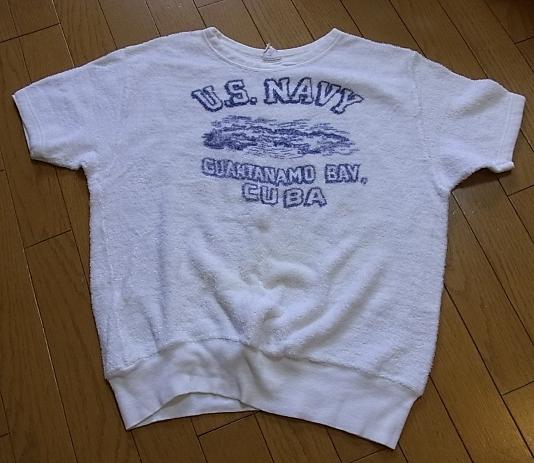 50'S U.S NAVY パイル地 Tシャツ!_c0144020_19351738.jpg