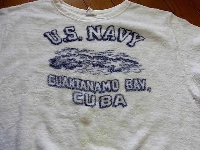 50'S U.S NAVY パイル地 Tシャツ!_c0144020_19351999.jpg