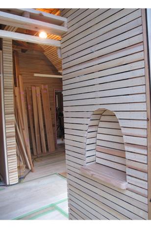 「新月伐採材」での漆喰壁の下地完了_a0131025_17181287.jpg