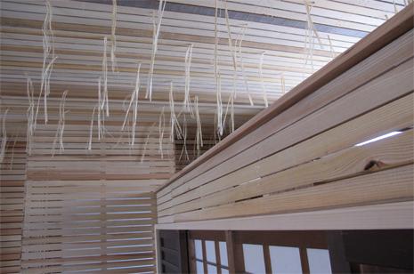 「新月伐採材」での漆喰壁の下地完了_a0131025_17184159.jpg