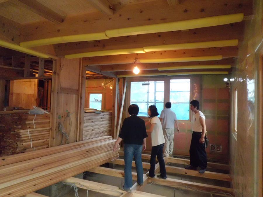 Y様邸「峰吉川の家」 施工中です。_f0150893_20192482.jpg