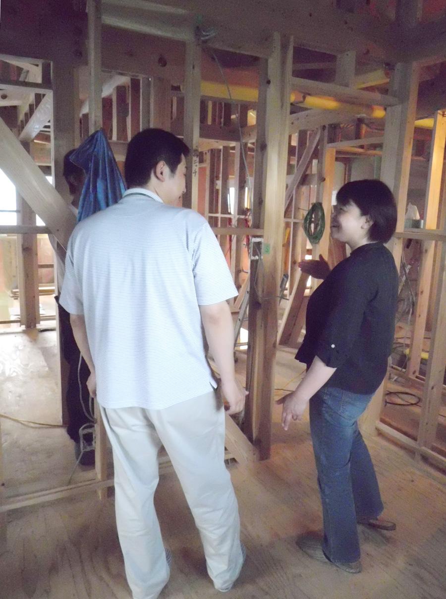 Y様邸「峰吉川の家」 施工中です。_f0150893_20195350.jpg