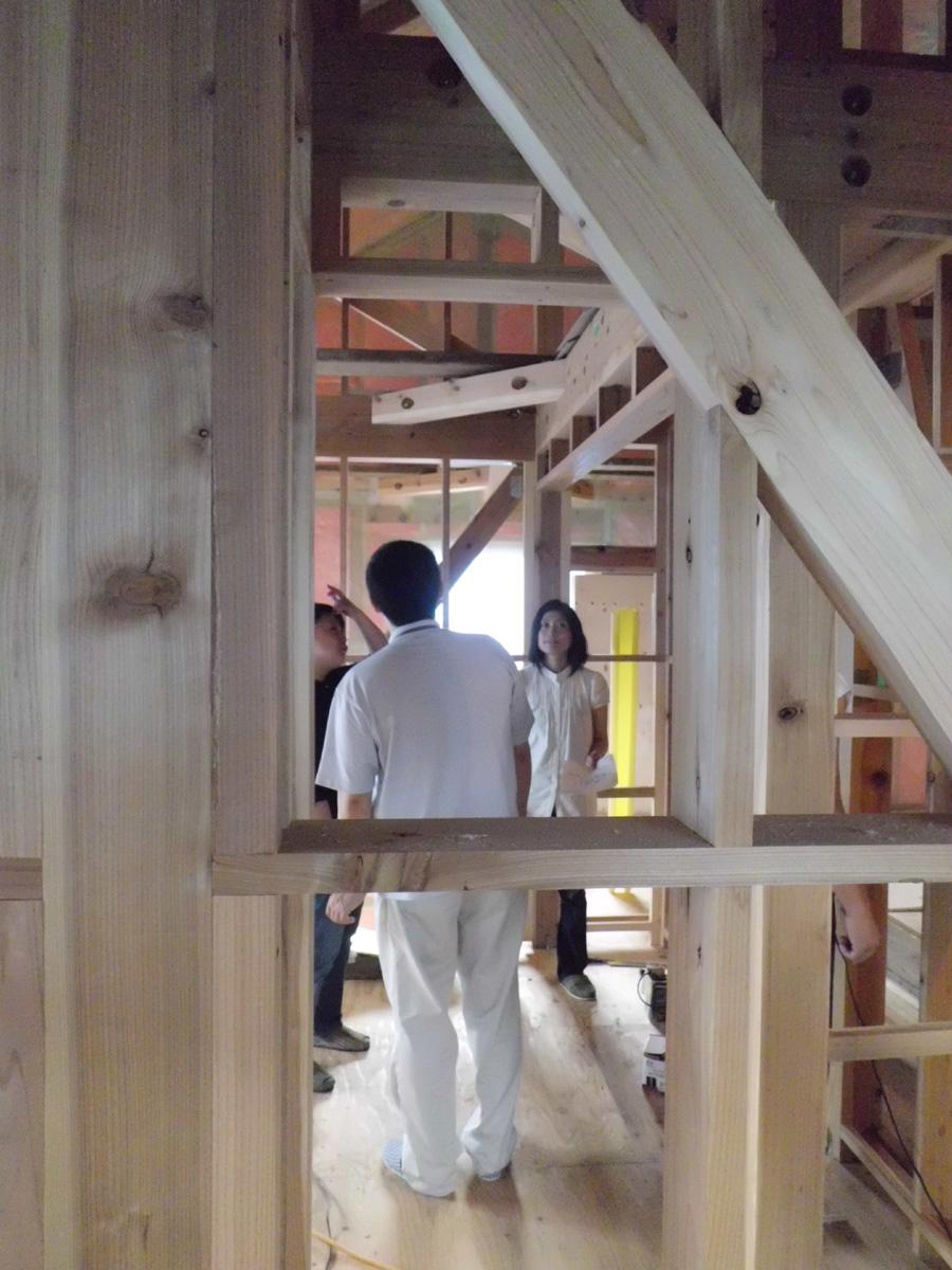 Y様邸「峰吉川の家」 施工中です。_f0150893_20204868.jpg