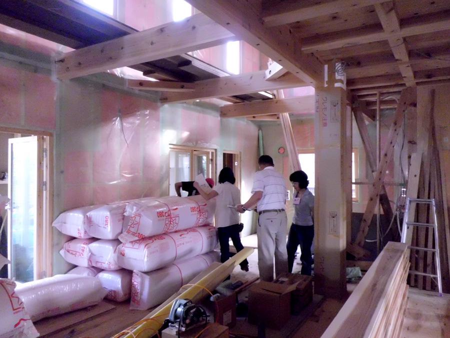 K様邸「船場町の家」 施工中です。_f0150893_208896.jpg