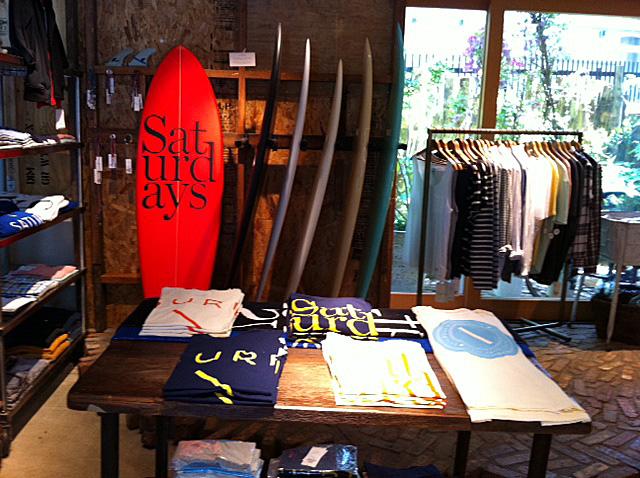 SATURDAYS SURF NYC x  Adam et Rope Biotope_f0010106_19393445.jpg