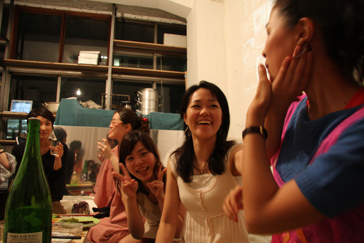 2011.7.2 ユルパカ食堂 〜瑞穂ママの日本酒の夕べ〜2_a0184716_12451575.jpg