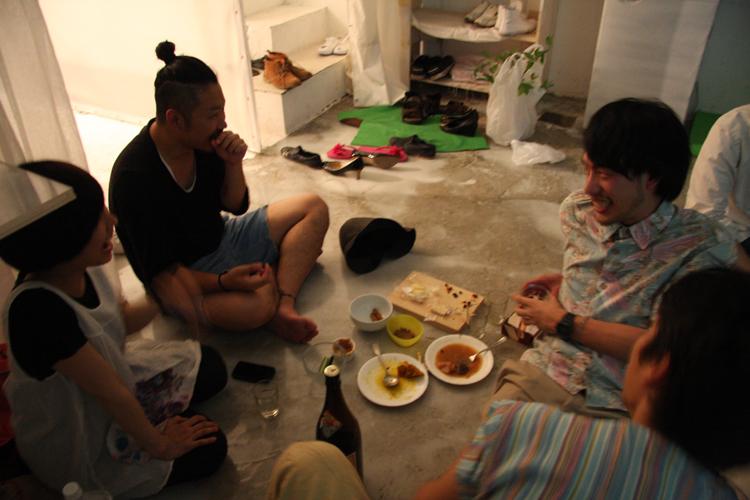 2011.7.2 ユルパカ食堂 〜瑞穂ママの日本酒の夕べ〜2_a0184716_12455812.jpg