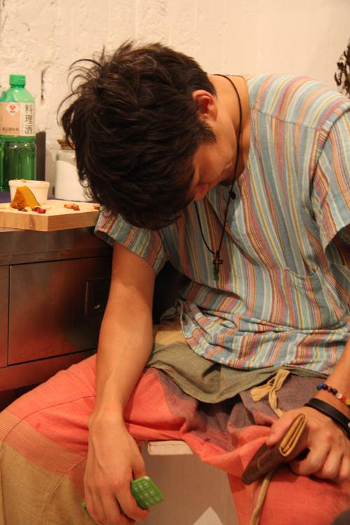 2011.7.2 ユルパカ食堂 〜瑞穂ママの日本酒の夕べ〜2_a0184716_12464335.jpg