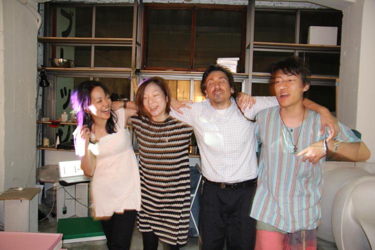 2011.7.2 ユルパカ食堂 〜瑞穂ママの日本酒の夕べ〜2_a0184716_1248118.jpg