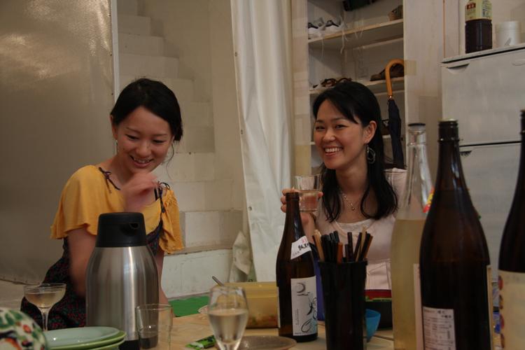 2011.7.2 ユルパカ食堂 〜瑞穂ママの日本酒の夕べ〜1_a0184716_12505097.jpg