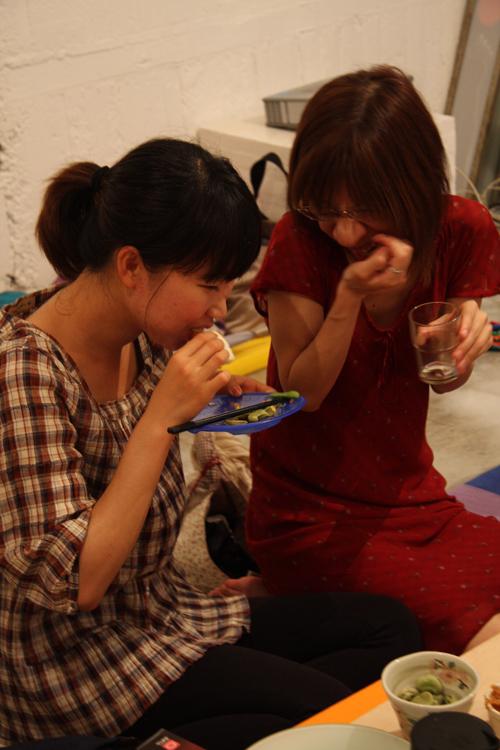 2011.7.2 ユルパカ食堂 〜瑞穂ママの日本酒の夕べ〜1_a0184716_1252173.jpg