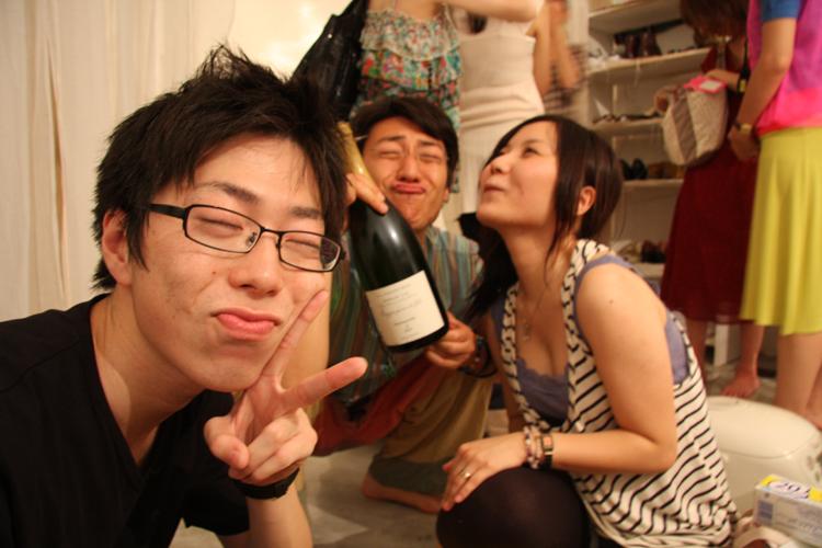 2011.7.2 ユルパカ食堂 〜瑞穂ママの日本酒の夕べ〜1_a0184716_12522968.jpg