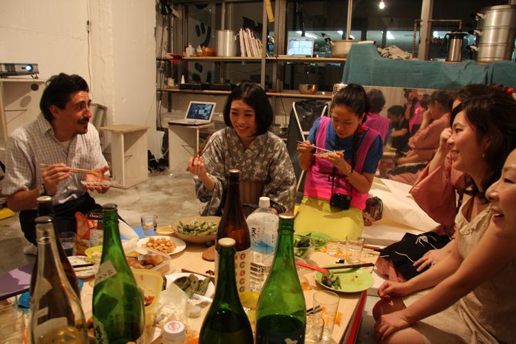 2011.7.2 ユルパカ食堂 〜瑞穂ママの日本酒の夕べ〜1_a0184716_12524120.jpg