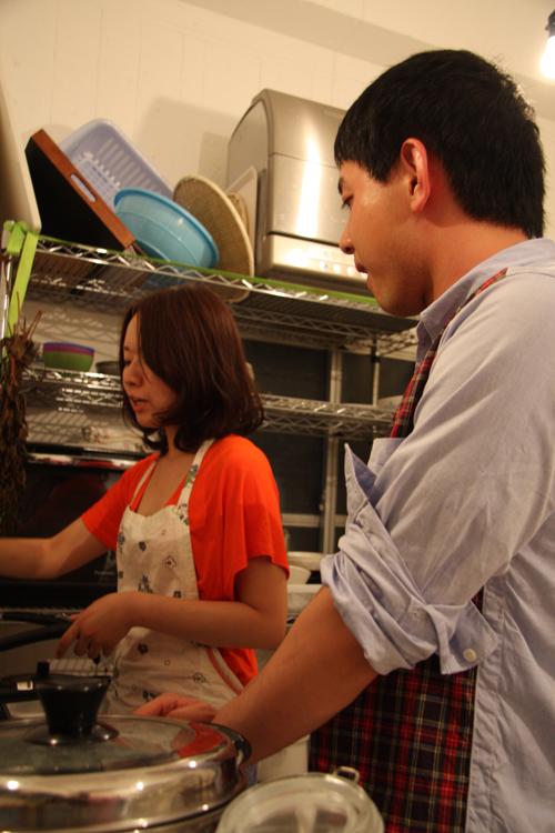 2011.7.2 ユルパカ食堂 〜瑞穂ママの日本酒の夕べ〜1_a0184716_1252522.jpg