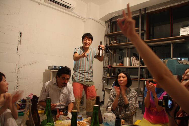 2011.7.2 ユルパカ食堂 〜瑞穂ママの日本酒の夕べ〜1_a0184716_12532331.jpg
