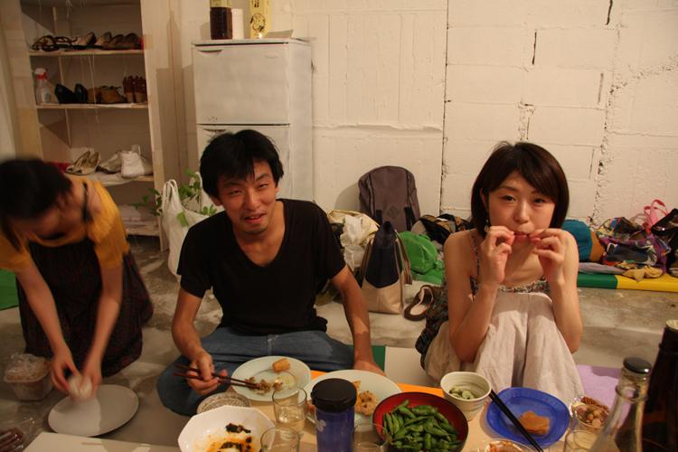 2011.7.2 ユルパカ食堂 〜瑞穂ママの日本酒の夕べ〜1_a0184716_12533557.jpg