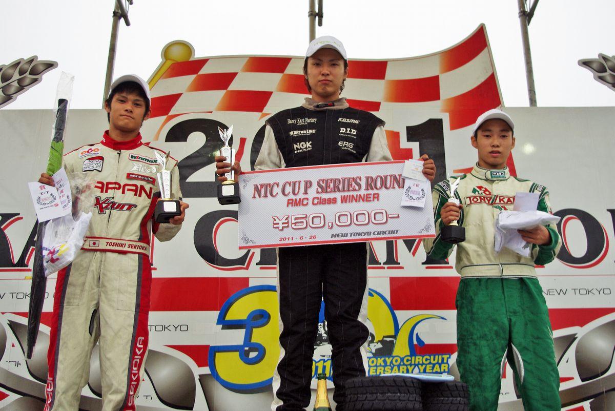 NTC CUP 第3戦『RMC』表彰式(2011.6.26)_c0224820_14371882.jpg