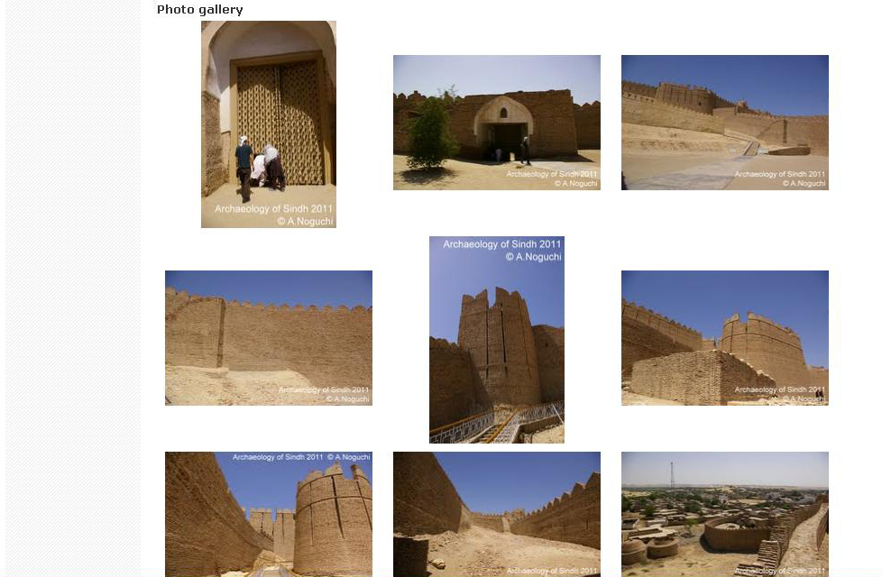 Archaeology of Sindh/ ただいま工事中_a0186568_134184.jpg