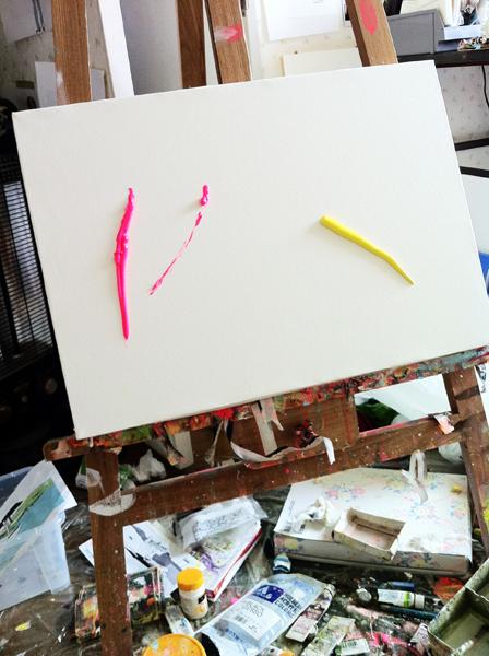 ピンクと黄色_c0154575_1256350.jpg