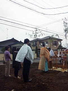地鎮祭でした。_c0039501_18531441.jpg