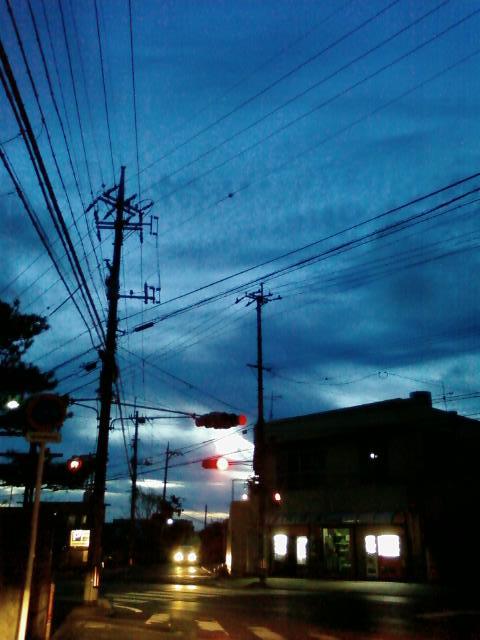 夏の夕暮れ_c0194929_932823.jpg