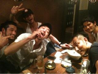 男子会(笑)_d0118072_13242446.jpg