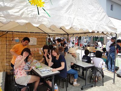 「びしゃもん市」小さななお祭り_b0092684_6413354.jpg
