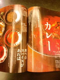雑誌「ミセス」でスパイスカレーを解説_c0033210_2312373.jpg