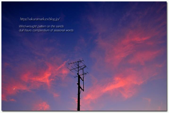 7月最初の夕空。_f0235723_19532467.jpg