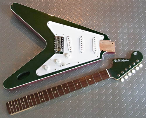 「Cadillac Green Metallic色のGibfendrix」の塗装完了!_e0053731_1854590.jpg