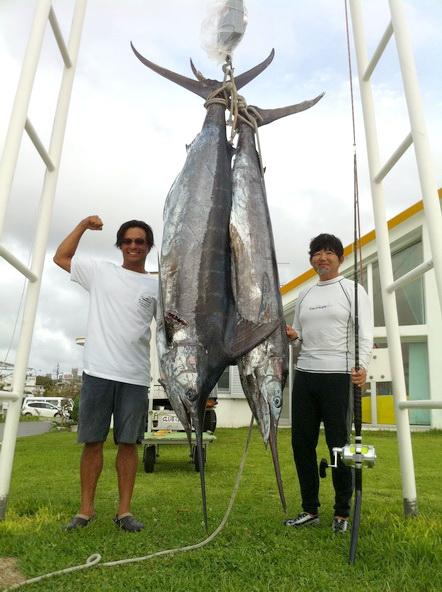 沖縄から 13本の釣果データ いただきました!! 【カジキ・マグロトローリング】_f0009039_9523814.jpg