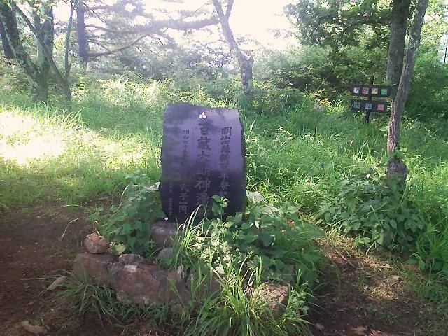 2011/07/05 百蔵山 大同山_d0233770_642227.jpg