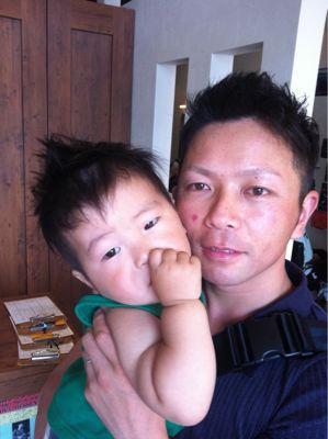 パパとお揃い♡_b0194266_1821023.jpg